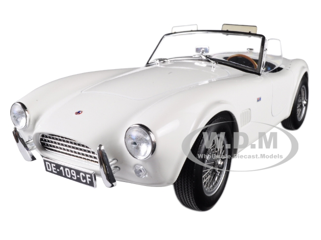 1963_Shelby_AC_Cobra_289_Roadster_White_118_Diecast_Model_Car_by_Norev