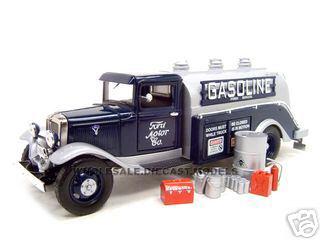 1934_Ford_Oil_Gasoline_Tanker_Blue_124_Diecast_Model_Car_by_Unique_Replicas