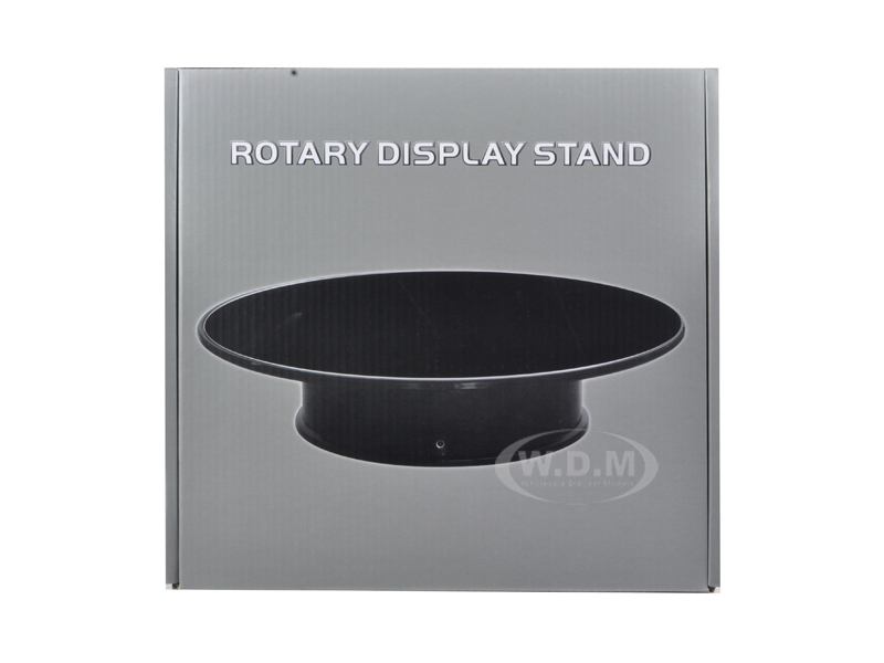 Rotary Display Stand for 1/18 1/24 1/64 1/43 1/32 Models With Flocked/Felt Top 10 Inched Radius by Diecast Models Wholesale