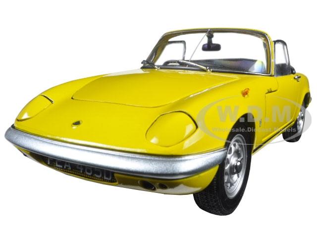 1966 Lotus Elan SE Roadster Yellow 1/18