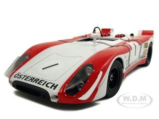 Porsche 908/02 Watkins Glen 1 6 Hours 1969 Winner B.Redman / J.Siffert 1/18 Diecast Car Model  by Autoart AA86971