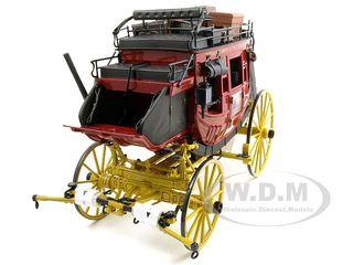wells-fargo-overland-stagecoach-diecast-model-116-by-franklin-mint