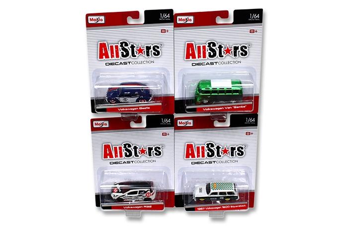 Maisto Diecast All Stars Volkswagen Models