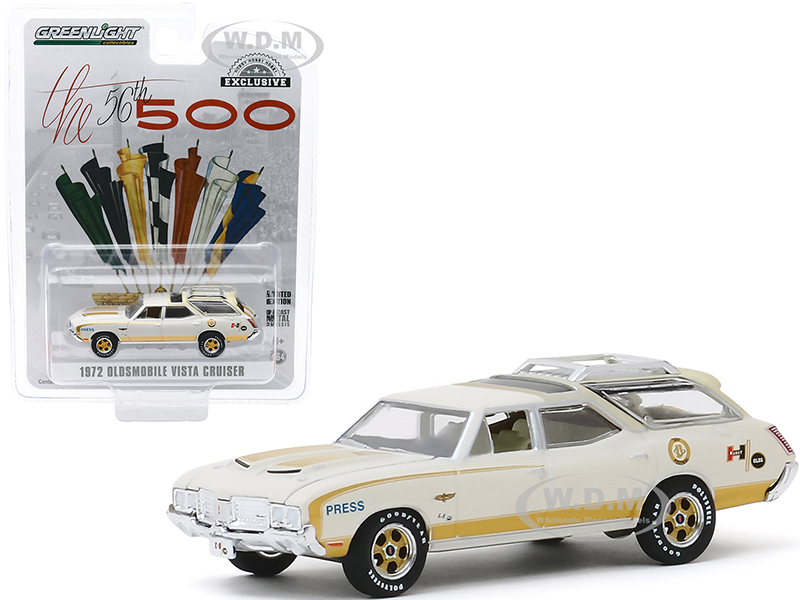 1972-oldsmobile-vista-cruiser-official-press-car-56th-annual-indianapolis-500-mile-race-hobby-exclusive-164-diecast-model-car-by-greenlight