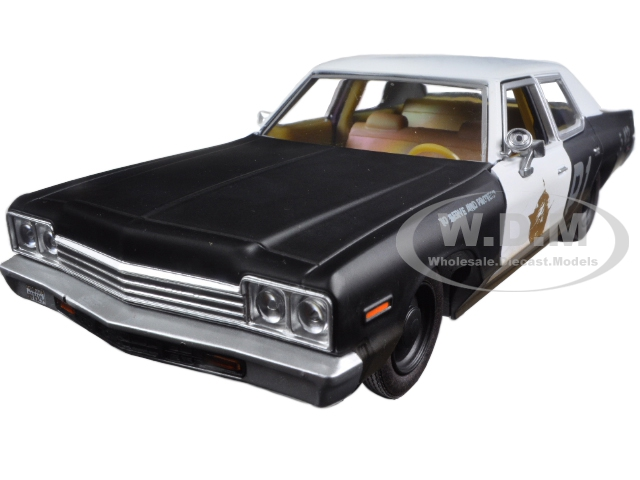 1974 Dodge Monaco Bluesmobile The Blues Brothers Movie 1/24 Diecast Model Car by Greenlight