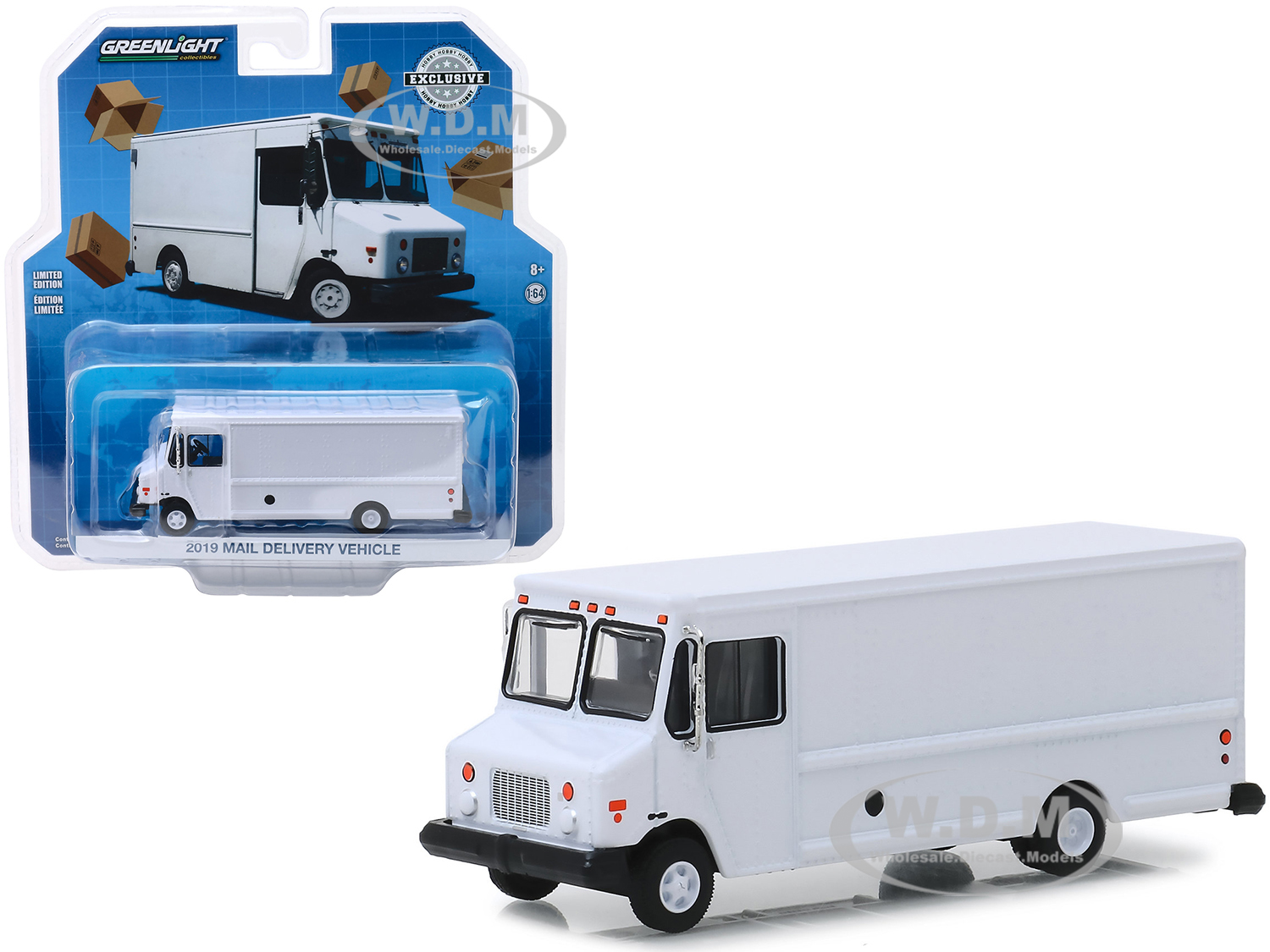 2019 Mail Delivery Vehicle White Hobby Exclusive 1/64 Diecast Model by Greenlight - from $11.99