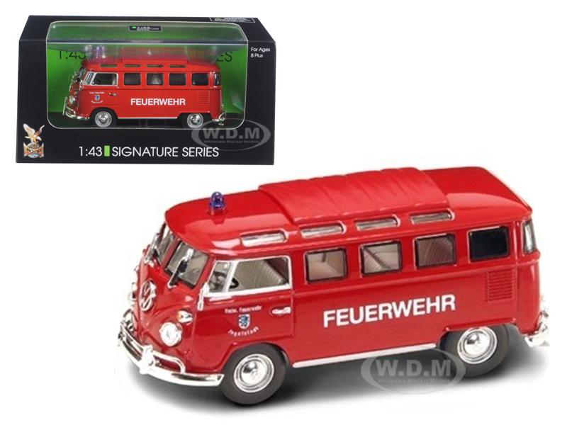Road Signature Diecast 1962 Volkswagen Fire Engine Models