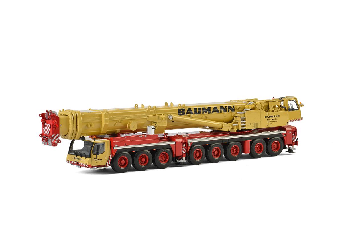 liebherr-ltm-1500-81-baumann-mobile-crane-yellow-and-red-150-diecast-model-by-wsi-models