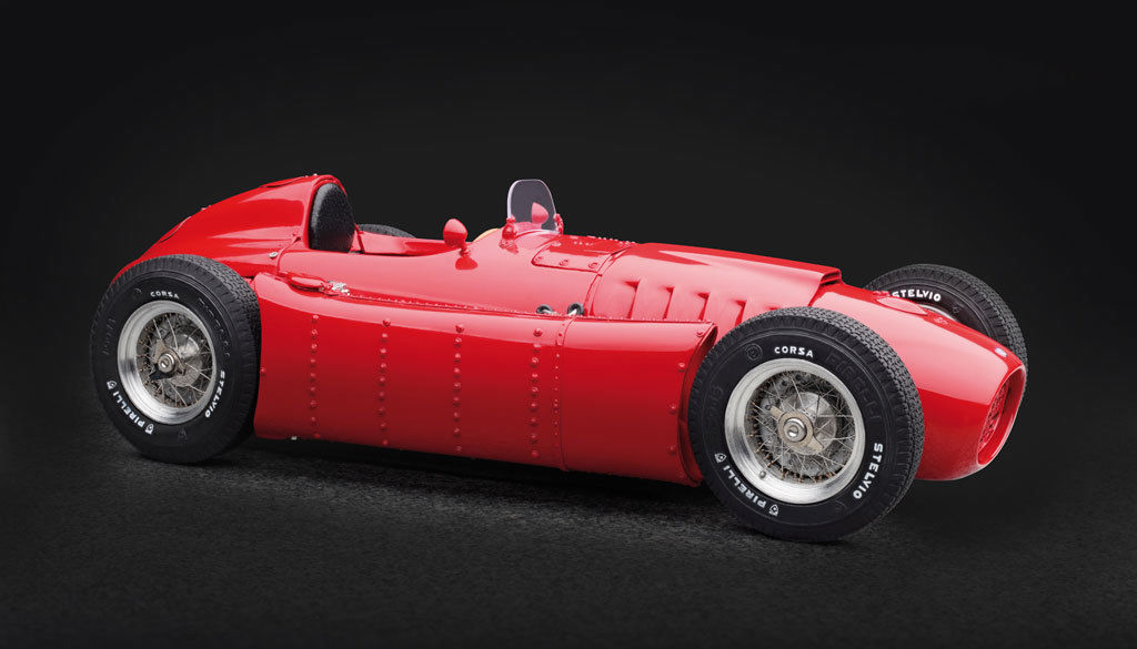 1954-1955 Lancia D50 Red 1/18 Diecast Model Car by CMC