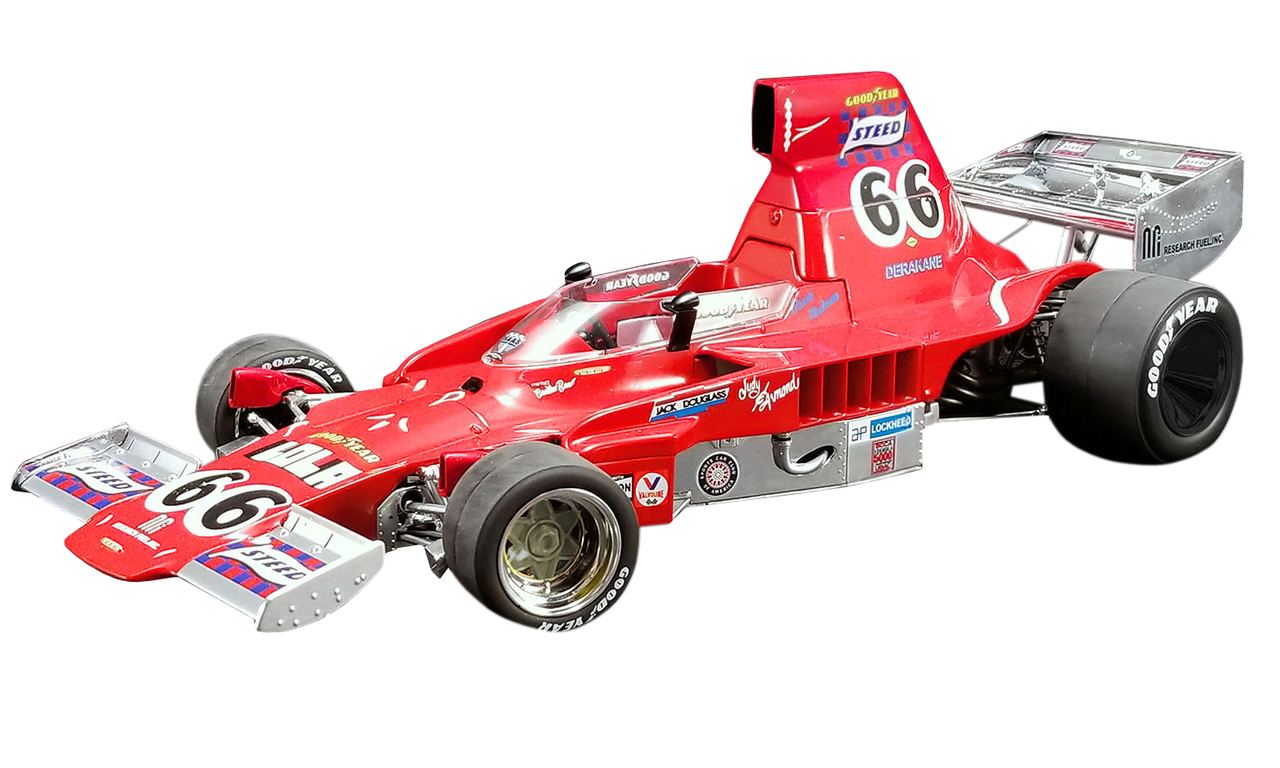 Steed T332 #66 Brian Redman 1974 F500 Champion Limited Edition to 300 pieces Worldwide 1/18 Diecast Model Car by ACME