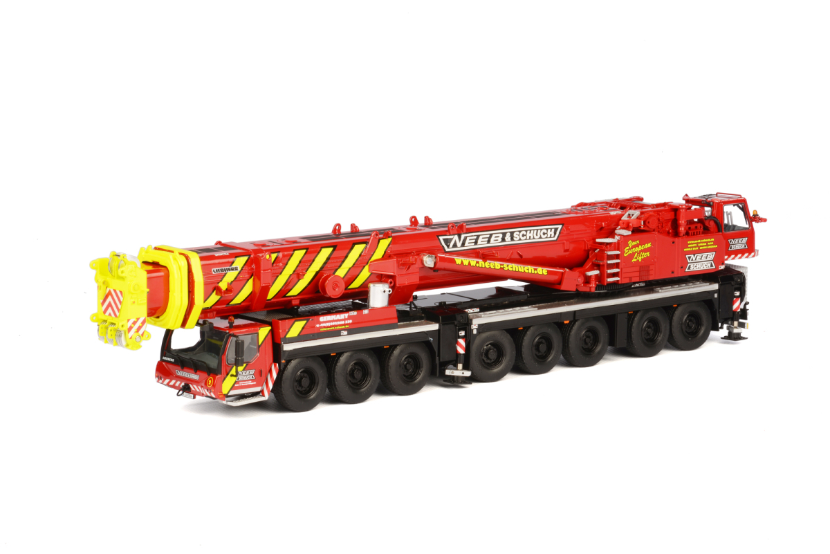 liebherr-ltm-1500-81-neeb-schuch-mobile-crane-red-and-yellow-150-diecast-model-by-wsi-models