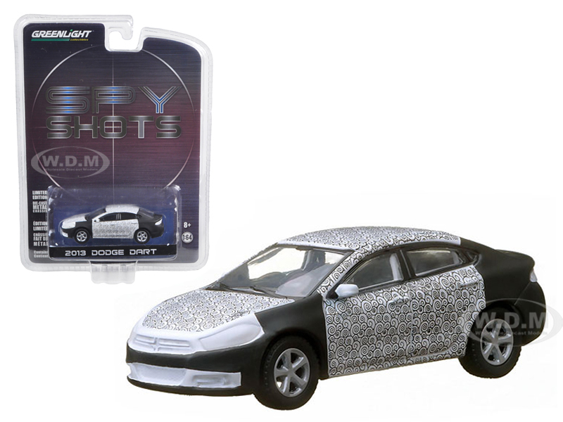 2013 Dodge Dart Spy Shot Hobby Exclusive in Blister Pack 1/64 Diecast Car Model by Greenlight