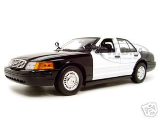 Ford Crown Victoria Unmarked Police Car 1/18 Diecast Model Car by Motormax