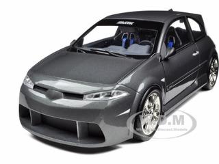 Renault Megane Vampire MTK Grey 1/18 Diecast Model Car by Norev