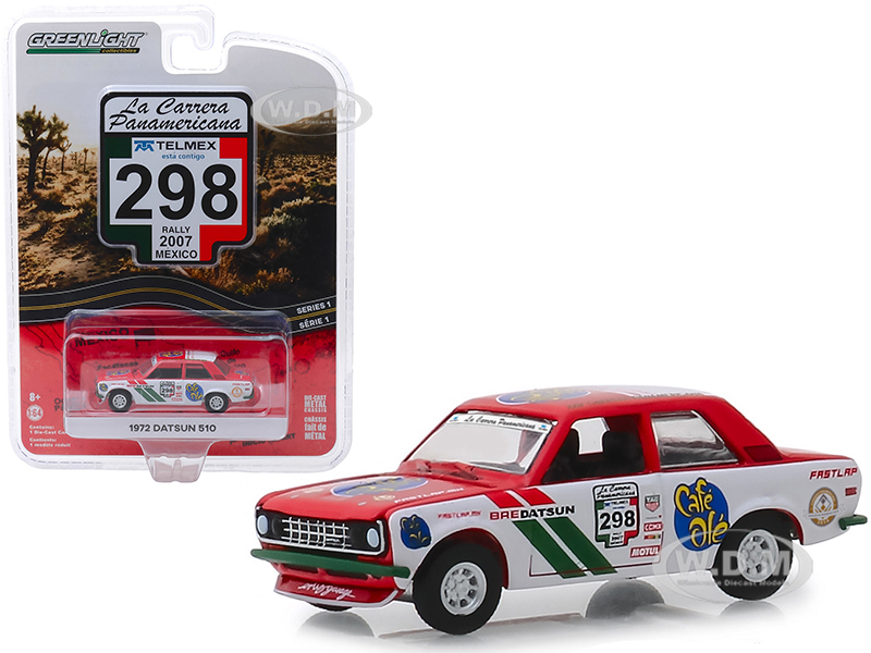 1972-datsun-510-298-rally-mexico-2007-la-carrera-panamericana-series-1-164-diecast-model-car-by-greenlight
