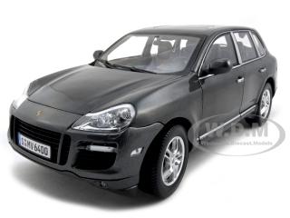 Porsche Cayenne Turbo Grey 1/18 Diecast Model Car by Norev